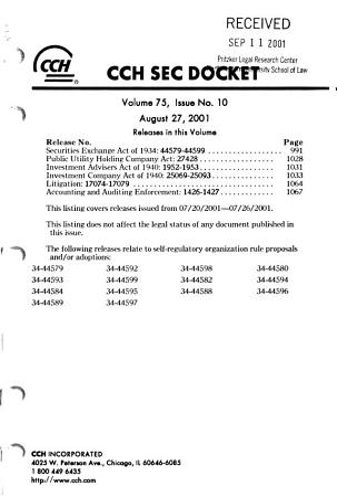 SEC Docket PDF