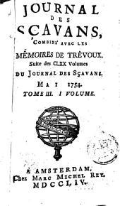 Le journal des sçavans, combiné avec les mémoires de Trévoux: Volume1;Volumes3à4