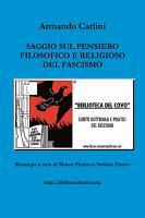 Saggio sul pensiero filosofico e religioso del Fascismo PDF