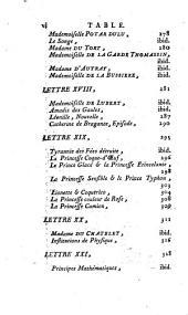 Histoire littéraire des femmes françoises, ou Lettres historiques et critiques: Volume4