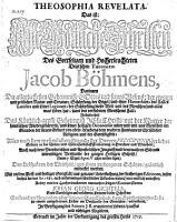 Theosophia revelata  Das ist  Alle G  ttliche Schriften     PDF