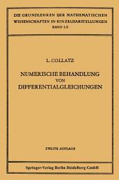 Numerische Behandlung von Differentialgleichungen: Ausgabe 2