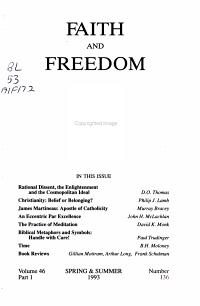 Faith and Freedom PDF