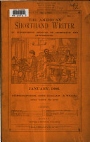 The American Short hand Writer PDF
