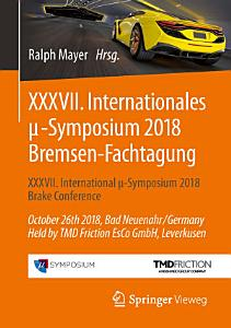 XXXVII  Internationales    Symposium 2018 Bremsen Fachtagung PDF