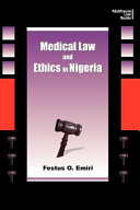 Medical Law and Ethics in Nigeria PDF