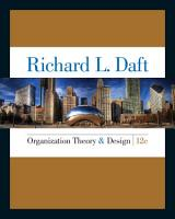 Organization Theory and Design PDF