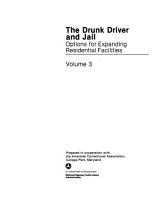 The Drunk Driver and Jail  Options for expanding residential facilities PDF