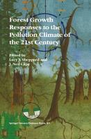 Forest Growth Responses to the Pollution Climate of the 21st Century PDF
