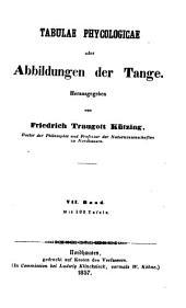 Tabulae phycologicae; oder, Abbildungen der tange: Bände 5-6