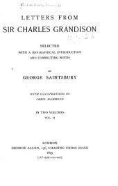 Letters from Sir Charles Grandison: Volume 2