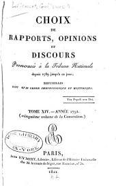 1792-95. (Convention) (t. 10 also contains Le procès Louis XVI)