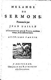 Mélange de sermons: Volume2