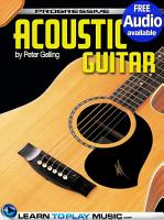 Acoustic Guitar Lessons for Beginners PDF