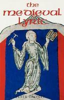 The Medieval Lyric PDF