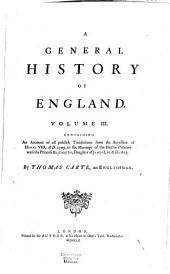 A General History of England: Volume 3