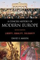 A Concise History of Modern Europe PDF