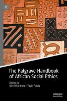 The Palgrave Handbook of African Social Ethics PDF