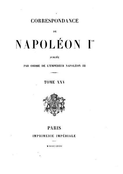 Download Correspondance de Napol  on Ier Book