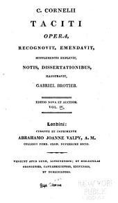 C. Corn: Taciti Opera, Volume 4