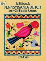 Pennsylvania Dutch Iron on Transfer Patterns PDF