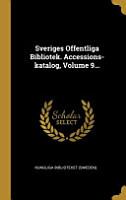 Sveriges Offentliga Bibliotek  Accessions katalog       PDF