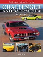 Collector s Originality Guide  Challenger and Barracuda 1970 1974 PDF