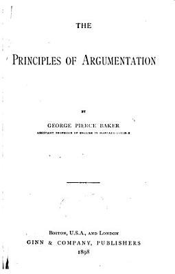 The Principles of Argumentation PDF