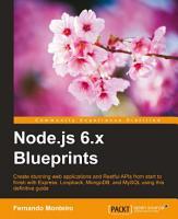 Node js 6 x Blueprints PDF