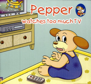 Pepper Watches Too Much Tv