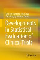 Developments in Statistical Evaluation of Clinical Trials PDF