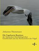 Die Vogelwarte Rossitten PDF