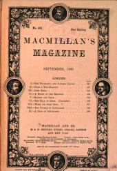 MacMillan's Magazine: Volume 72