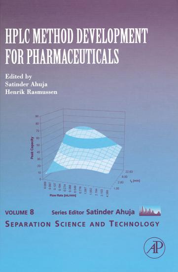HPLC Method Development for Pharmaceuticals PDF