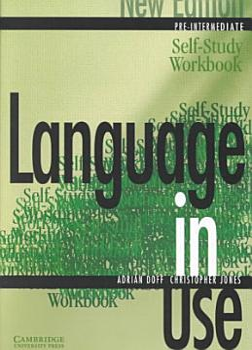 Language in Use Pre Intermediate Self study Workbook PDF