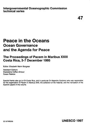 Peace in the Oceans PDF