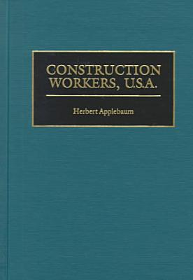 Construction Workers  U S A  PDF