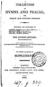 A collection of hymns and psalms, for public and private worship, selected by A. Kippis [and others].