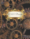 Steampunk Metal Cogs 2020 Diary Planner