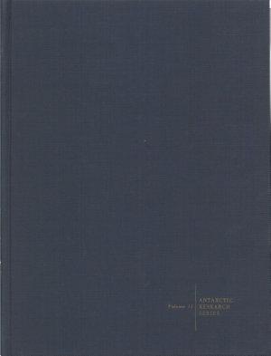 Biology of the Antarctic Seas III