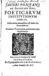 Poeticae institutiones