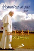 MOMENTOS DE PAZ CON JUAN PABLO II PDF