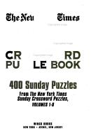 The New York Times Jumbo Sunday Crossword Puzzle Book PDF