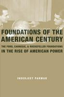 Foundations of the American Century PDF