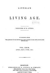 The Living Age ...: Volume 29