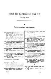 Bulletins Et Mémoires de la Société Médicale Des Hôpitaux de Paris