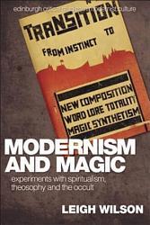Modernism And Magic Book PDF