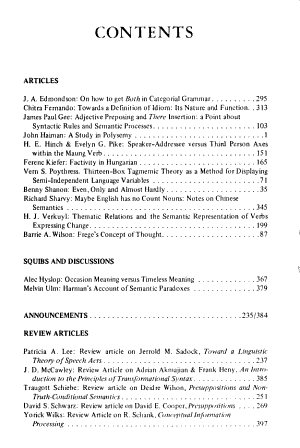 Studies in Language PDF