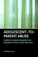 Adolescent to parent Abuse PDF