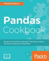 Pandas Cookbook PDF
